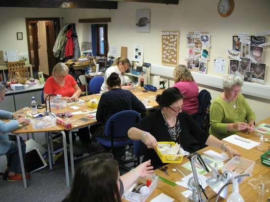 Cornwall School of Art, Craft and Jewellery: Our main class room