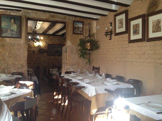 Restaurante Meson La Esquinita: Sala comedor