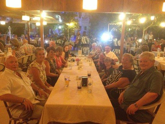 Yalcin Hotel: Turkish night