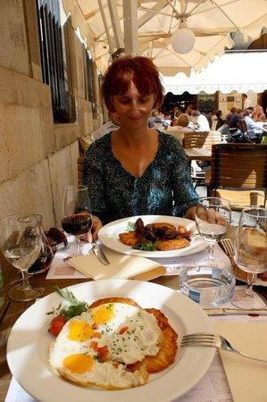 Brasserie de l'Hotel de Ville : Обед на двоих