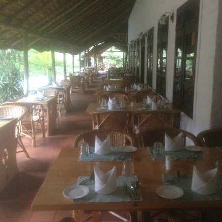 Spice Village : outdoor sitting  @restaurant
