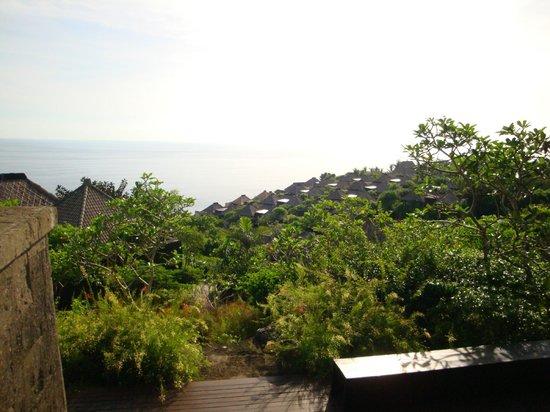 Bulgari Resort Bali: 建ち並ぶヴィラ