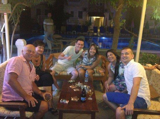 Yalcin Hotel: Bar area