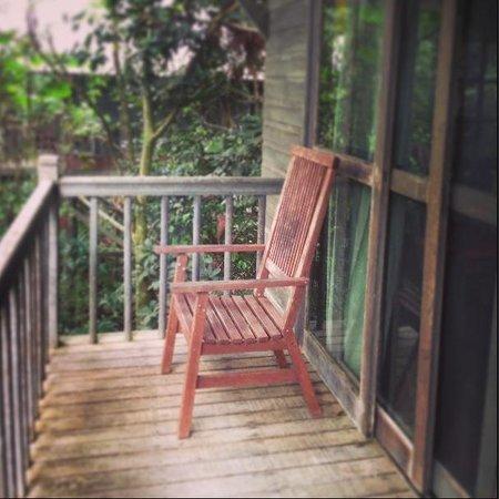 Permai Rainforest Resort: The balcony