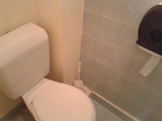 Brit Hotel Macon Centre Gare: Vue WC