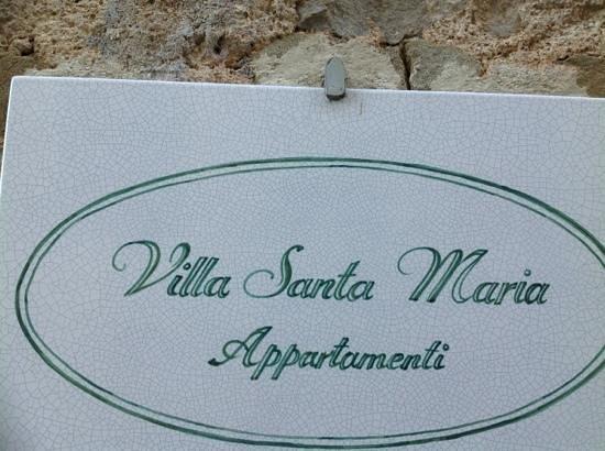 Residence Villa Santa Maria: villa santa maria