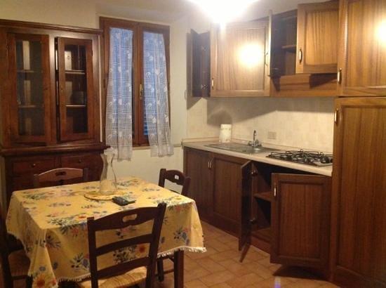 Residence Villa Santa Maria: cucina borgo alto