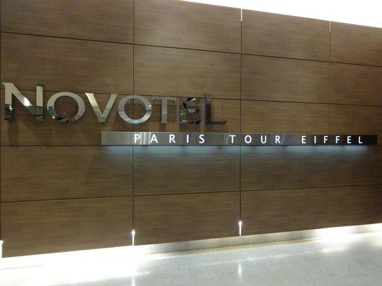 Novotel Paris Centre Tour Eiffel: entrata
