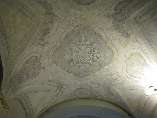 Palazzo Morando: soffitto affrescato