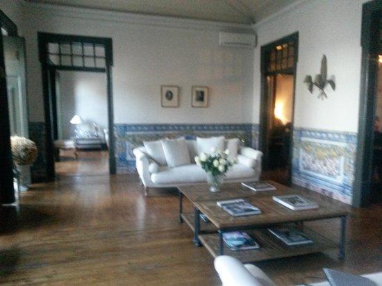 Palacio Ramalhete: Hall