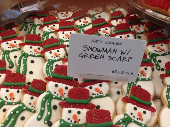 Red Rooster Artisen Bakery And Catering: Christmas Cookies