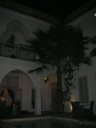 Riad Anyssates : The courtyard