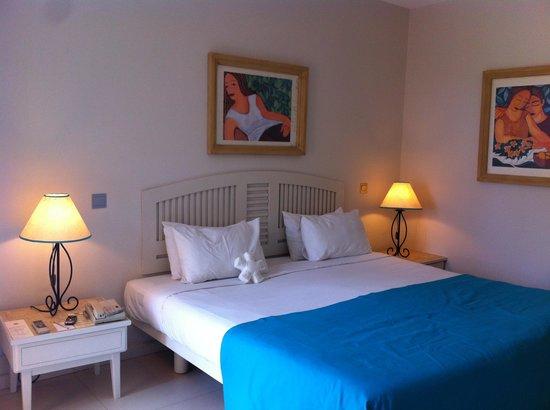 Merville Beach Hotel: chambre standard