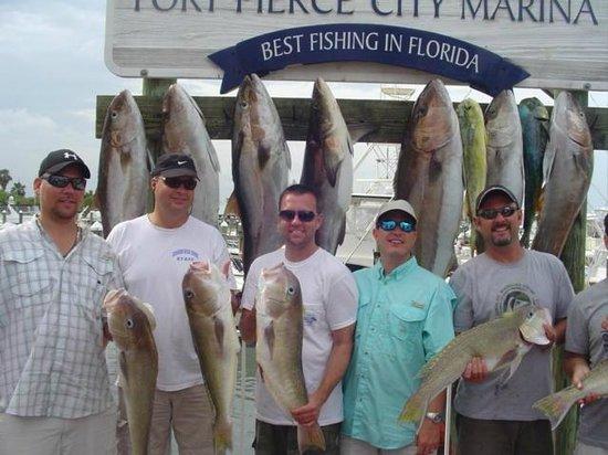 Big amberjacks picture of last mango fishing charters for Fishing charters fort pierce fl