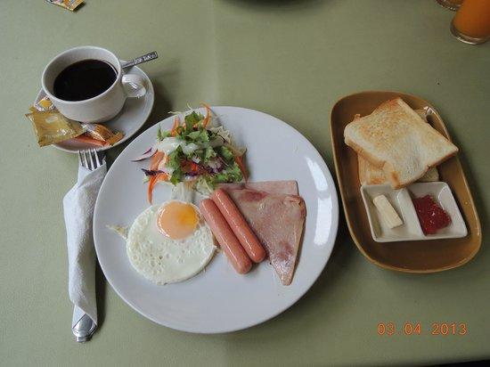 Regent Suvarnabhumi Hotel: American Breakfast