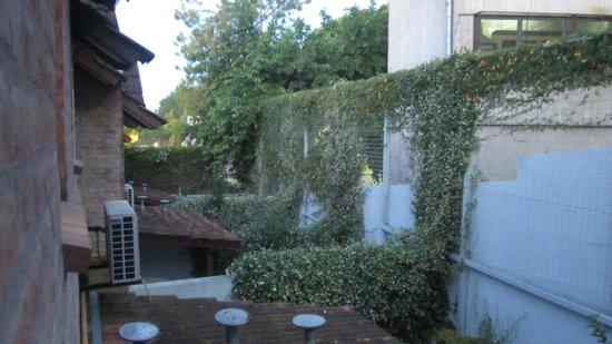 Hotel Jacaranda: Vista desde la habitación