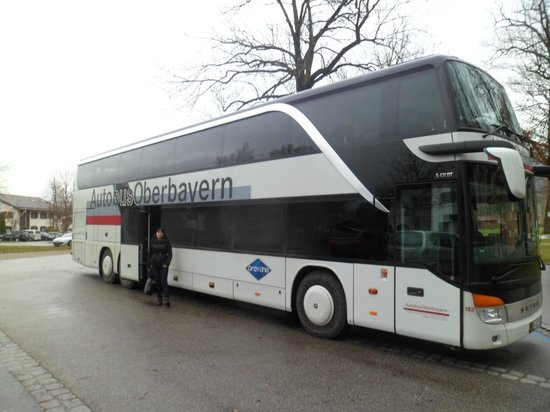 Gray Line Munich: our bus