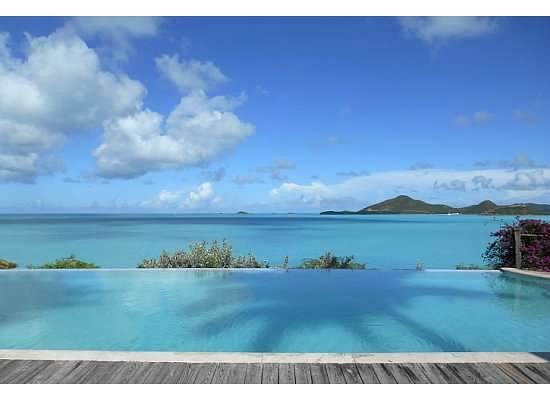 Cocobay Resort: View from the upper pool