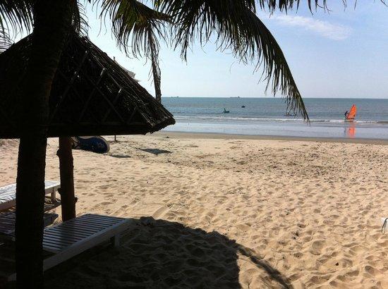 Nhat Quang Family: Vue de la plage le matin