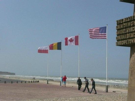 Plages du Débarquement de la Bataille de Normandie : Omaha Beach