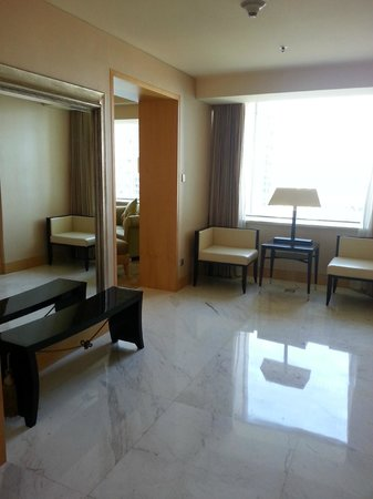 JW Marriott Hotel Beijing: the entrance