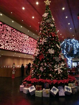 The Westin Xian: christmas decoration
