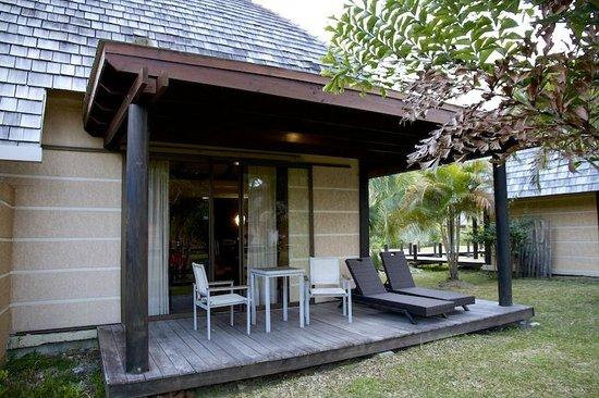 Hôtel Tieti Poindimié : La veranda esterna