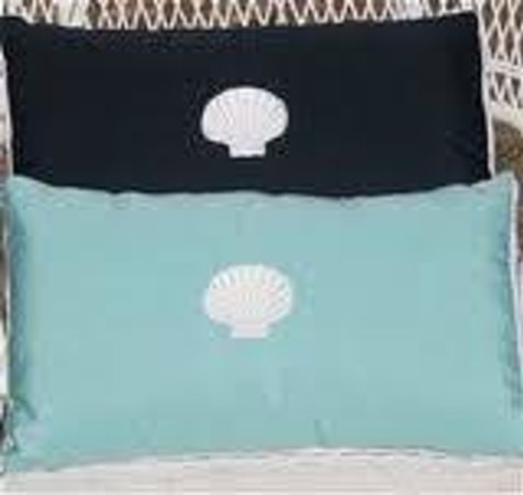 Millie's of Chatham General Store: Sunbrella Fabric Pillows