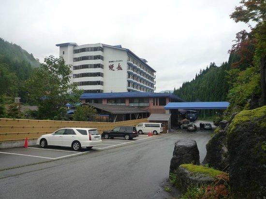 Okuhida Garden Hotel Yakedake : ホテル外観