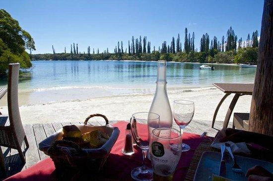 Oure Tera Beach Resort : Pranzo senza vista!!!