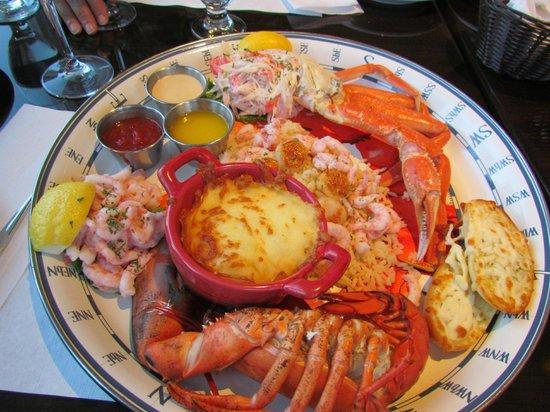 Restaurant Poissonnerie Escoumins: Assiette délicieusement bonne