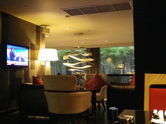 Park Plaza Bangkok Soi 18 : salle pdj / salons