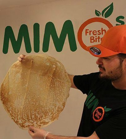 Mimos Fresh Bite: Homemade bread