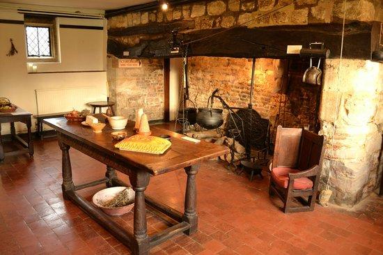 Michelham Priory: Kitchen Area