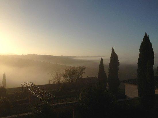 Castello di Meleto: morning