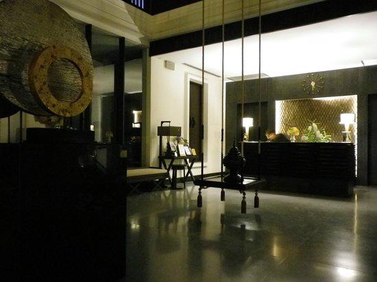 Aruntara Riverside Boutique Hotel: reception