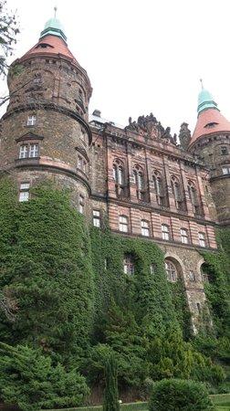 Ksiaz Castle: Замок Ксенж (вид с террас)