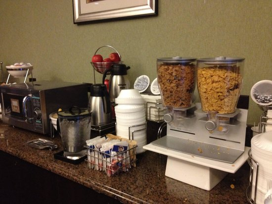Sleep Inn at Court Square: Breakfast
