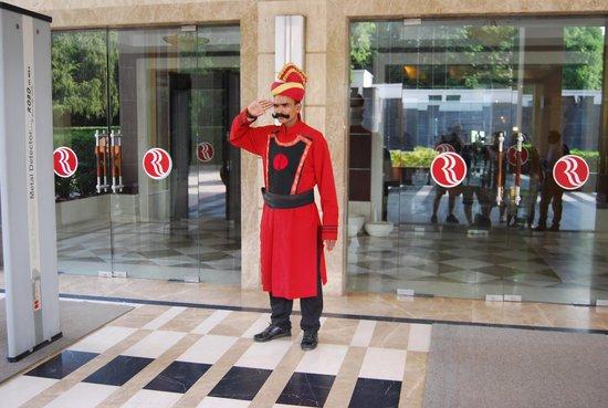 Ramada Plaza JHV Varanasi: Great doorman!