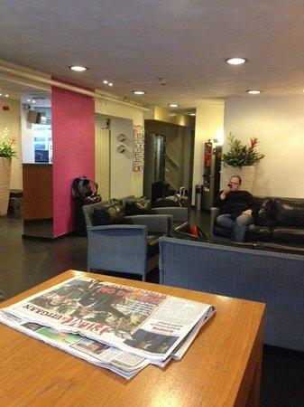 Nova Hotel Amsterdam: loby