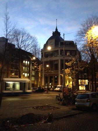 Nova Hotel Amsterdam : sreet view