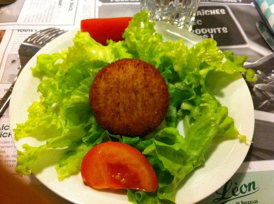 Leon de Bruxelles: Vieux Bruges sur salade