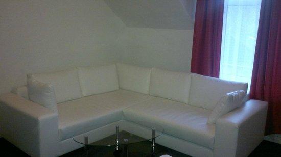 Alte Direktionsvilla Kupfermuehle: geräumige Sitzecke