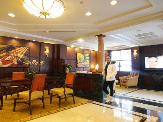 Skyline Hotel: lobby do hotel