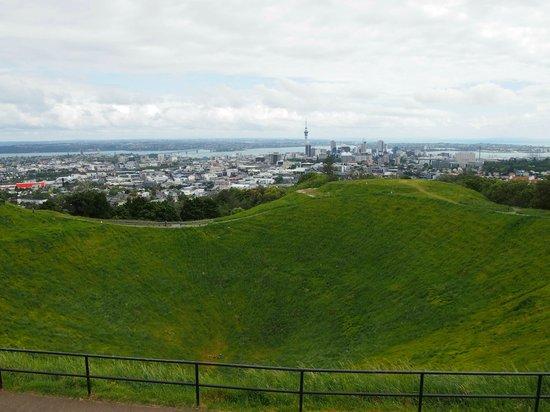 Mount Eden : view from top of mt eden