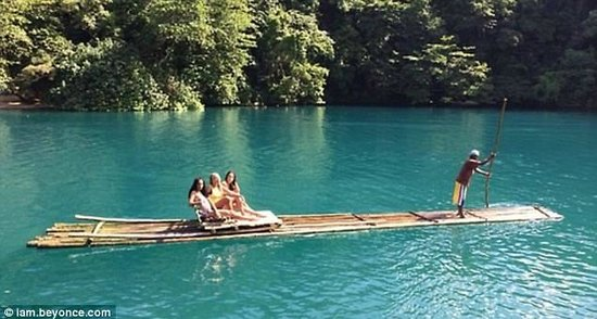 Moon San Villa: Beyonce Rafting at the Blue Lagoon