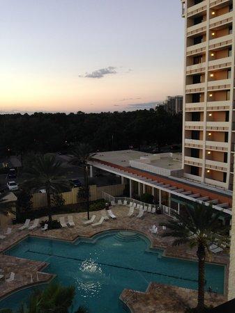 Holiday Inn Orlando – Disney Springs Area: Our view!