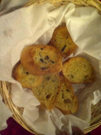 Lindeboom Grand Cafe en Restaurant: garlic bread
