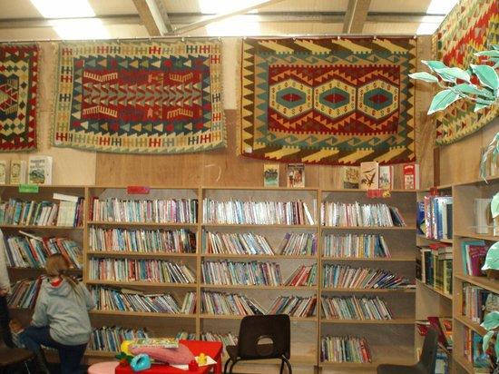 Bookbarn International: Carpets in children's section