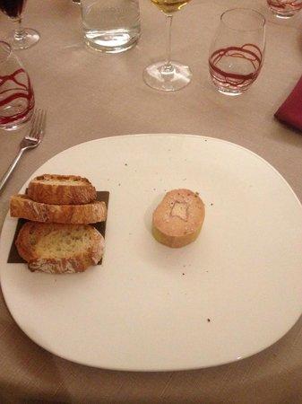 Lons-le-Saunier, Francia: Foie gras médiocre
